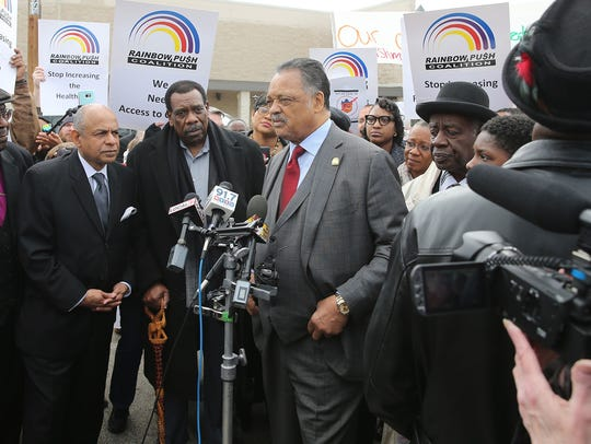 """I'm not sure it's true,"" said the Rev. Jesse Jackson"