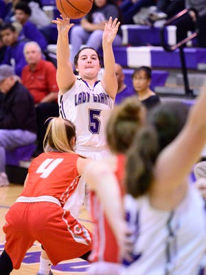 Olivia Baptista of Fremont Ross established a single-game program-record with seven 3-pointers last week.