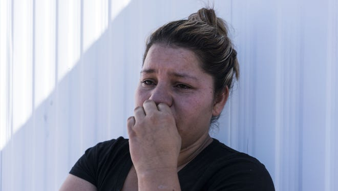 Blanca Mendez, an undocumented woman from Sonora, Mexico, who lives in Phoenix, fears deportation after Donald Trump was elected president of the U.S.