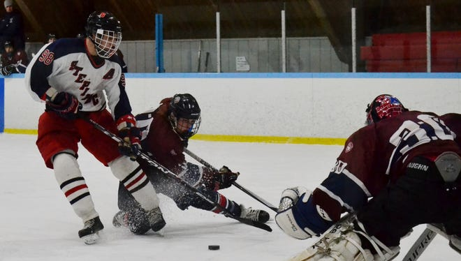 Stepinac forward Nick Tabio had five goals and four assists last week, helping the Crusaders finish the regular season with a 21-0-1 record.