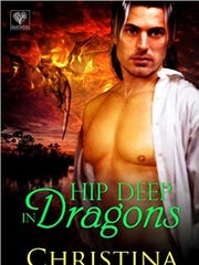 "Author Christina Westcott is one of the 16 authors featured at ""Romance is in the Air"" at Miromar Outlets in Estero on Saturday. Her ""Hip Deep in Dragons"" is a novella set in Naples and the Everglades."
