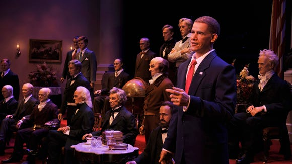 Pride in America pours from The Hall of Presidents: