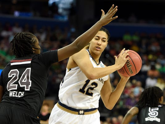 NCAA Womens Basketball: Final Four-South Carolina vs Notre Dame
