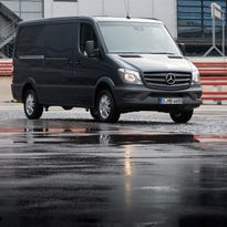 Mercedes' vans are among the vehicles being recalled to replace Takata air bags