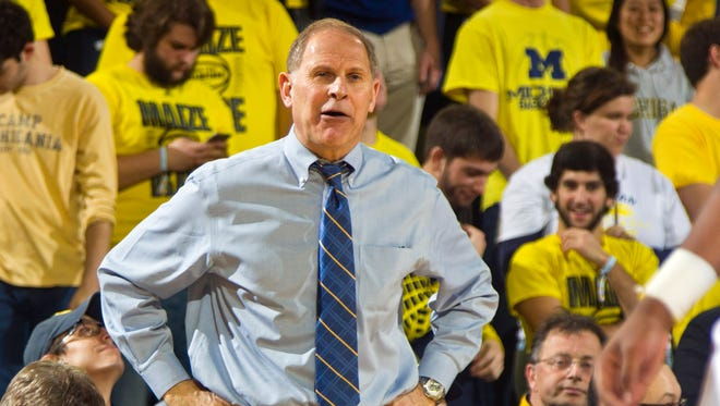 Michigan head coach John Beilein.
