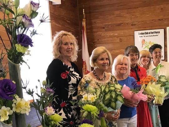Vital to growth, new members were honored by President Janie Zezeck: Anne Kern, Pam Cully, Valerie Niewieroski, Abby James, Maggie Cook.