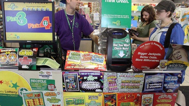 New Jersey will dedicate its lottery revenue to prop up the pension system.