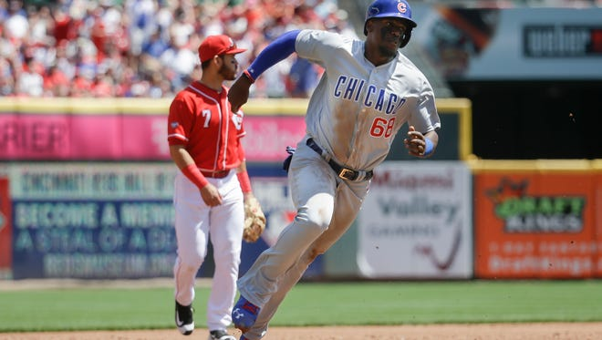 Cubs outfielder Jorge Soler is off to a slow start at the plate in place of Kyle Schwarber.