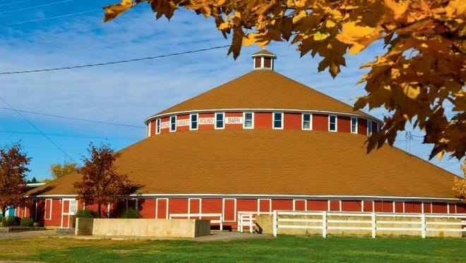 As part of Farm Tech Days, the Innovation Square committee is hosting a contest for youth to try their hand at building their own round barn.