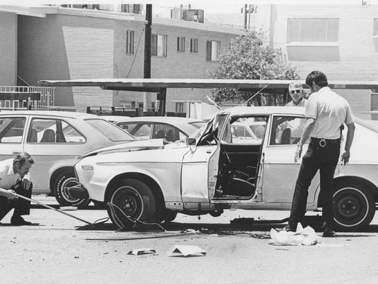 Don Bolles case: The bomb-rigged car