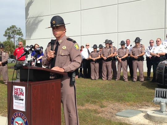 FHP Lt. Greg Bueno addresses press conference on hit-and-run