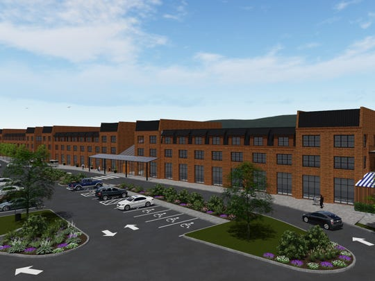 A rendering of the Poughkeepsie Landing development project.