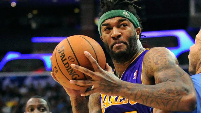 Pacers newcomer Jordan Hill  was arrested near Atlanta on charges of reckless driving and speeding.