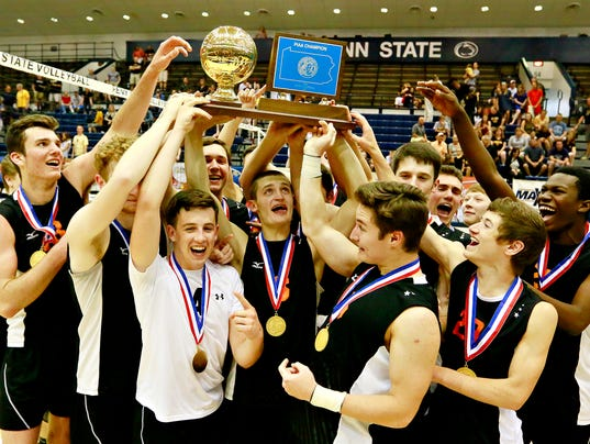 Central York vs North Allegheny PIAA Boys' Championship Volleyball
