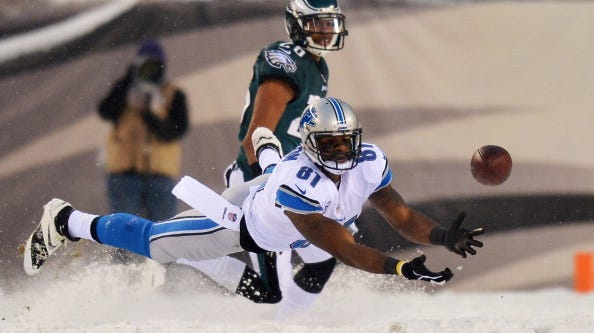 Detroit wide receiver Calvin Johnson says the Lions have all the pieces in place to take the team to the playoffs this year.