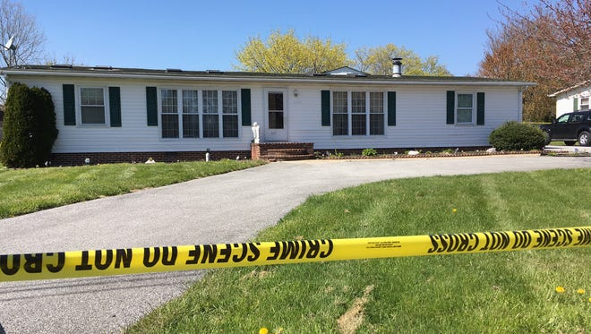 A 19-year-old woman was found shot inside a New Castle-area home.