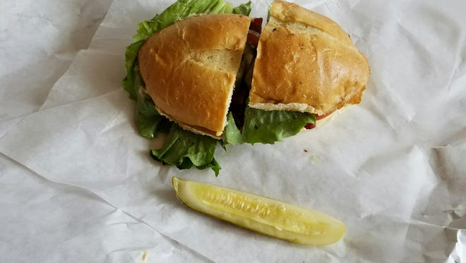 A sandwich from Choice City Butcher & Deli in Old Town, Fort Collins.