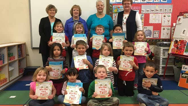Kewaunee County participants in the Wisconsin Bookworms program.