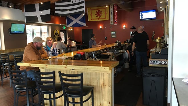 McClellan's Brewing Company offers cask ales made on site, as well as guest taps and food.