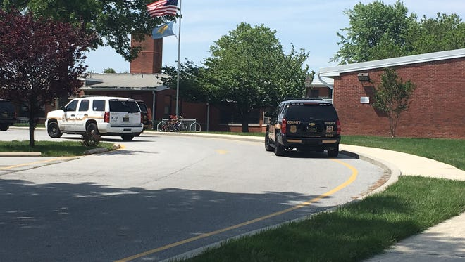 Wilmington Manor Elementary School evacuated the building Wednesday morning after receiving a bomb threat.