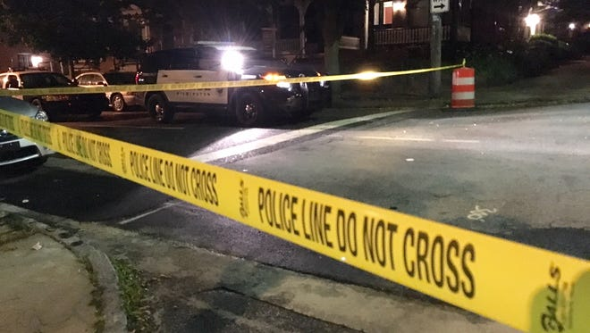 Wilmington police is investigating a shooting early Tuesday morning that injured one person.