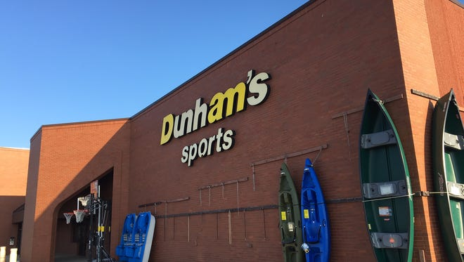 The Dunham's sporting goods store on Muncie's northwest side will close.