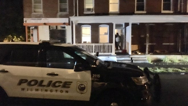 Three women, ages 21, 23 and 24, were injured in an early morning shooting in Wilmington on Thursday, Sept. 1, 2016.