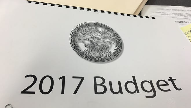 The 2017 Delaware County budget.