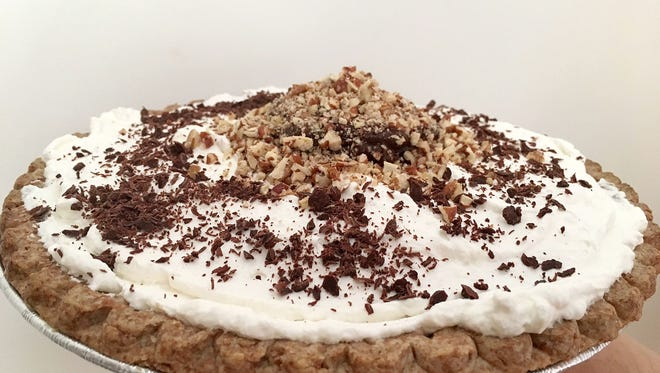 This easy-to-make delicious Mocha Pecan Pie was made using pudding mix. Do you have any great mix hacks to share? (Photo by Ann Maloney, NOLA.com | The Times-Picayune)
