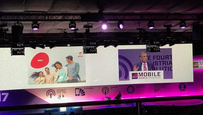 Sunil Bharti Mittal at Mobile World Congress