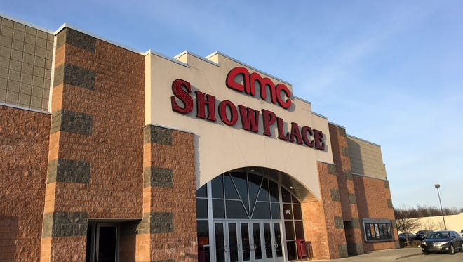 The AMC Showplace movie theater on Muncie's north side.