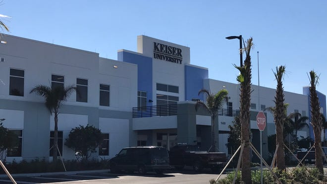 Keiser University's new $14 million, 74,000-square-foot campus in Tradition.