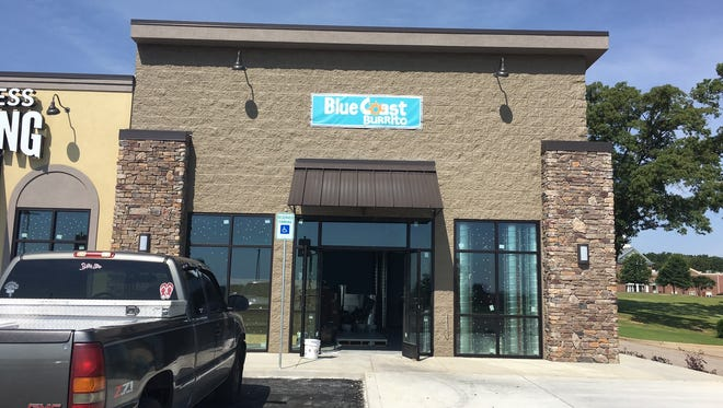 Blue Coast Burrito is set to open on Union University Drive in early July.