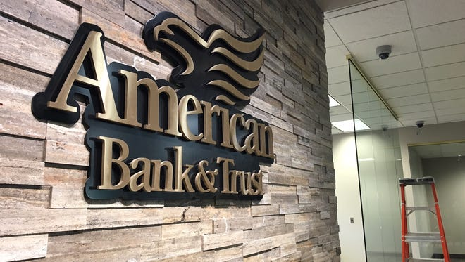 American Bank & Trust's new downtown Sioux Falls branch is now under construction and will open June 12.