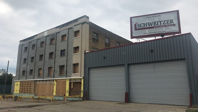 Schweitzer Inc., recently begun renovations to the former Norman Foods facility at 86 S. Division St. in downtown Battle Creek. The site will become their new corporate headquarters.