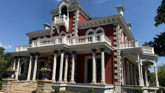 The Wilkins Mansion in Greenville is a 2017 South  Carolina Historic Preservation award-winning project.