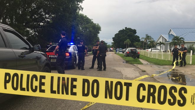 Fort Myers police are investigating a shots fired call on South Street.