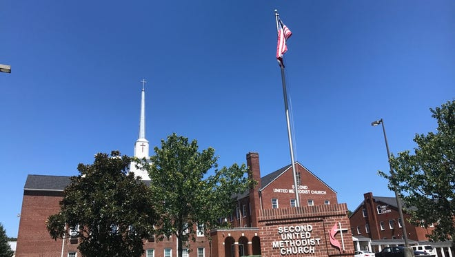 Second United Methodist Church in Knoxville