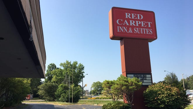 The Red Carpet Inn on South Madison Street in Muncie.