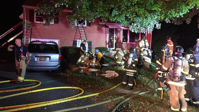 A fire in Mill Creek sent a 91-year-old man to the hospital Saturday.