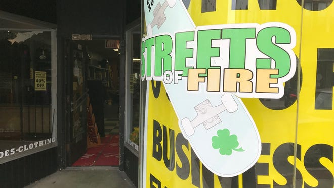 Streets of Fire, a long-running skateboard shop, is going out of business after 16 years in downtown Oshkosh.