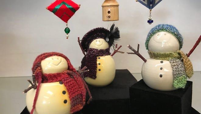 The Art Walk gets Christmasy at Gallery 16 Friday, Nov. 3.