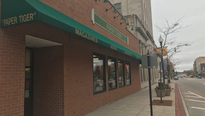 Paper Tiger Book Store, 408 N. Main St. in Oshkosh, will close after its parent company, Book World, announced it will liquidate all of its 45 stores.