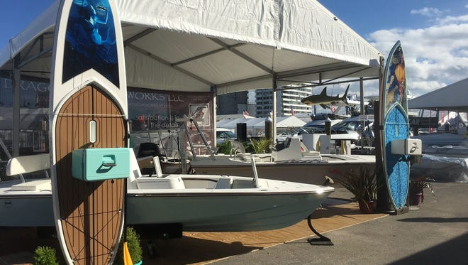 Dragonfly Boatworks of Vero Beach will be one of the exhibitors at this weekend's Vero Beach Boat Show at Riverside Park. The show has free admission and free parking.