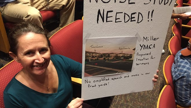 Residents of the Dos Vientos section of Newbury Park turned out in force at a Thousand Oaks City Council meeting to protest plans to turn their local YMCA into the new home of Councilman and pastor Rob McCoy's Godspeak Calvary Chapel.