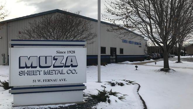 Muza Sheet Metal Co., 51 E. Fernau Ave., celebrates its 90th anniversary this year.