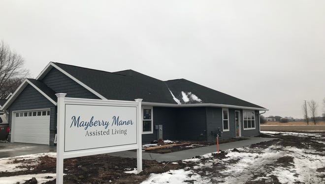 Mayberry Manor, 3539 Witzel Ave., is a new assisted living facility on Oshkosh's west side.