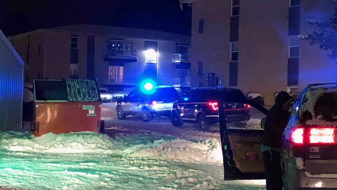 Police are responding to reports of a shooting in Newark on Tuesday evening.
