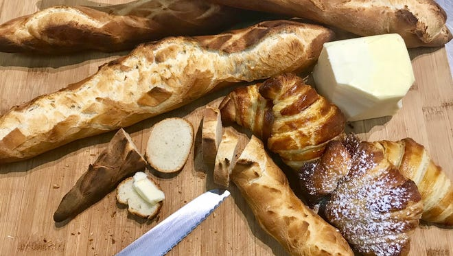 Le Petit Croissant is now offering French baguettes and a croissant bar.