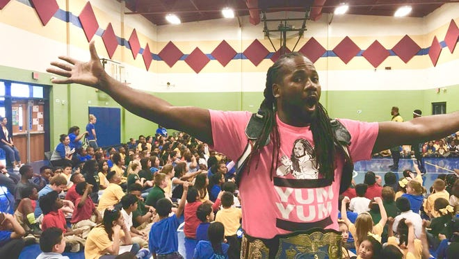 Shreveport pro wrestler Big Daddy Yum Yum spoke to several northwest Louisiana Schools over the past three days about bullying.